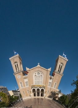 Panorama-Athens-Metropolitan-Cathedral-of-Athens-12-images-little-planet