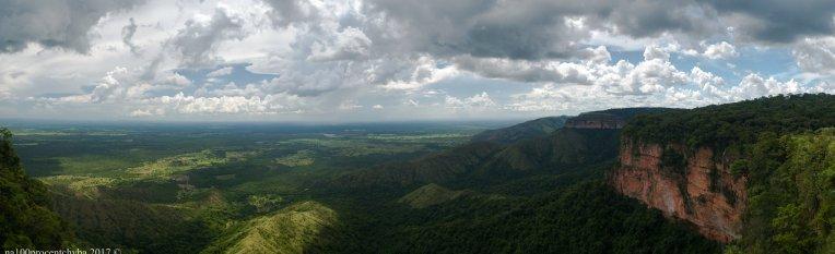 Vista do Morro dos Ventos - panorama 18 images